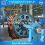 KJY400-500 series high speed steel wire cable armoring machine