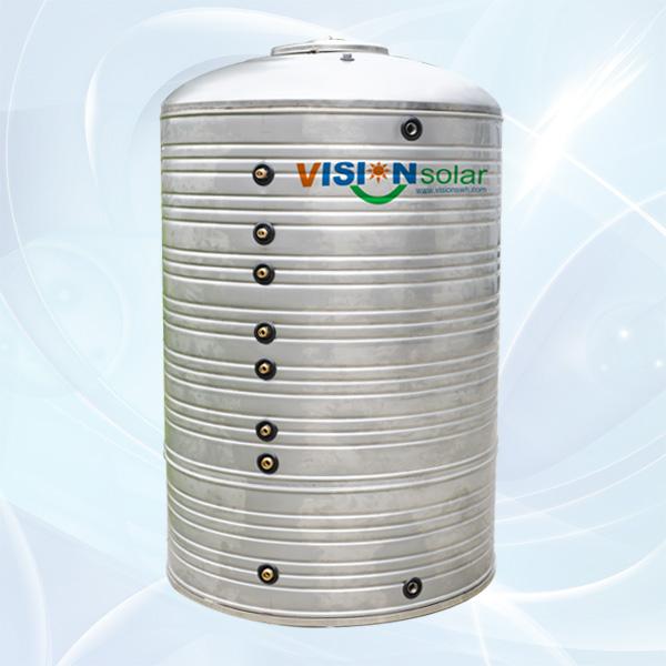 Atmospheric Solar Hot Water Tank