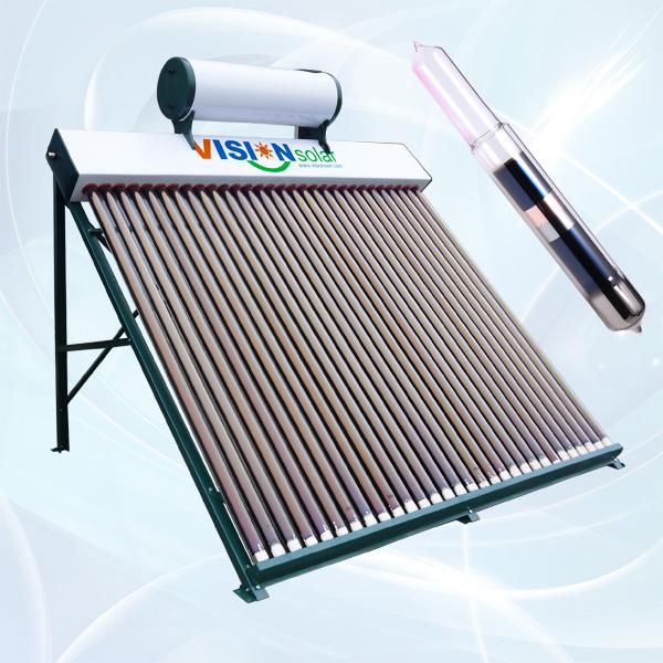 Non-pressurized Vacuum Tube Solar Collector VNC-CGS