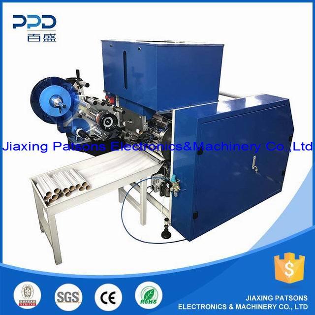5 shaft food cling stretch wrap film rewinder machine, PPD-5SH450